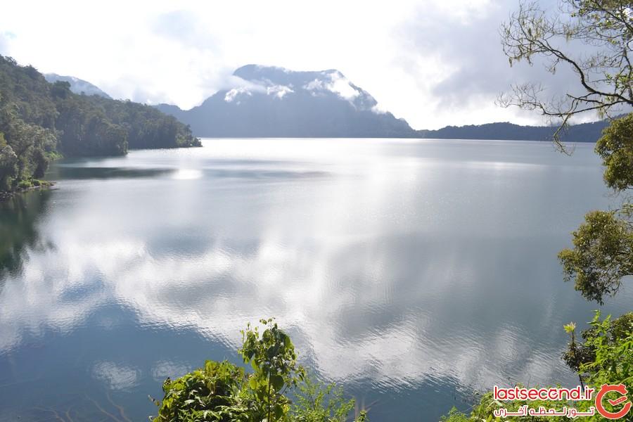 16 دریاچه مخفی که از دیدن آن ها متعجب می شوید