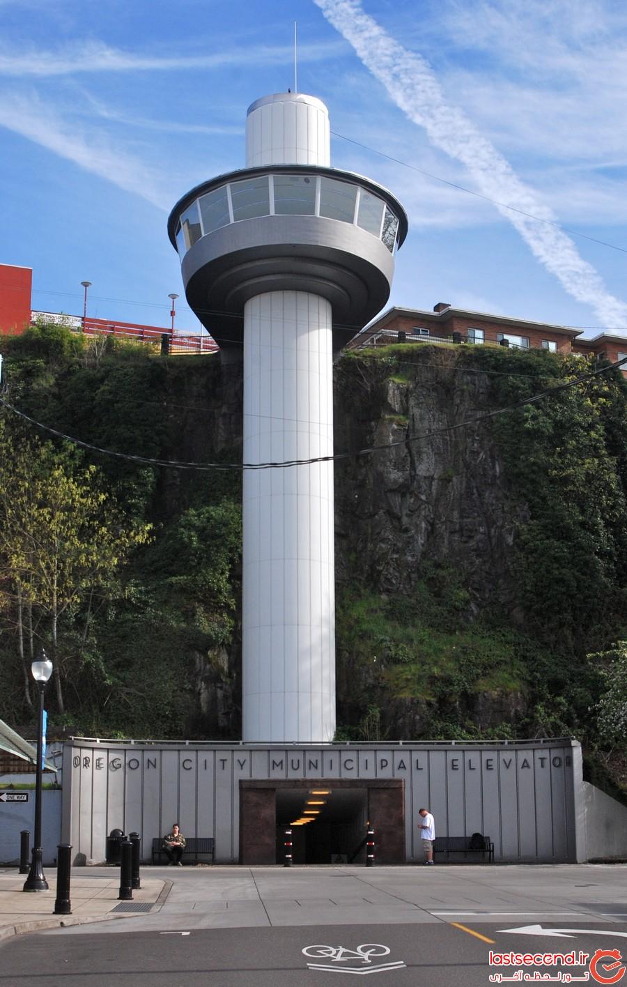 دیوانه کننده ترین آسانسورهای جهان