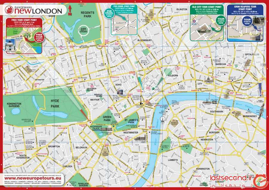  لندن، شهر تاریخ و تمدن