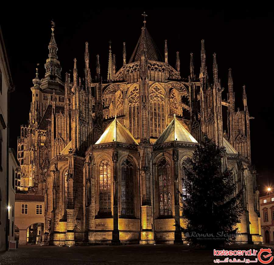 کلیسای ‏St. Vitus Cathedral ‏