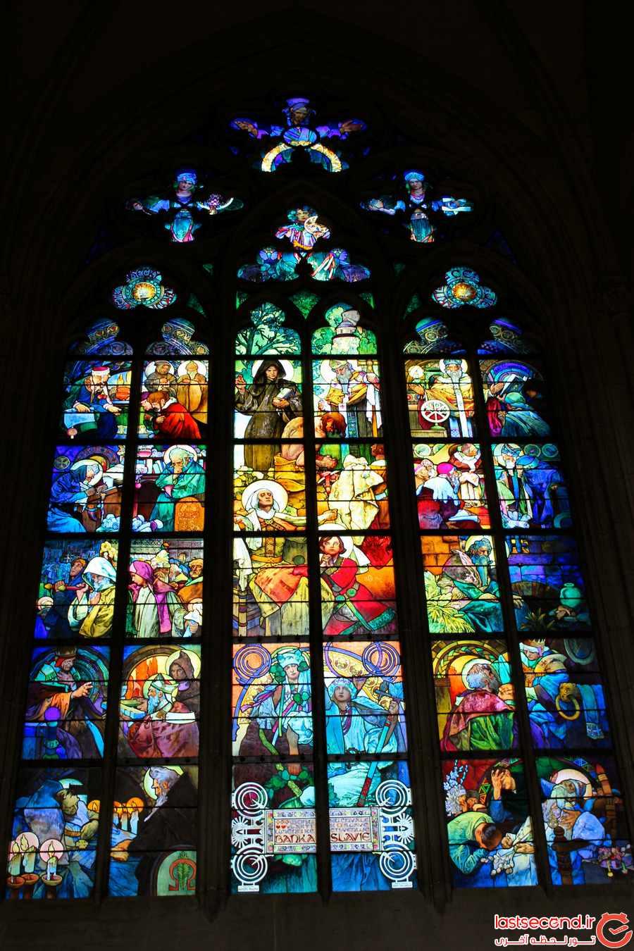 کلیسای St. Vitus Cathedral 