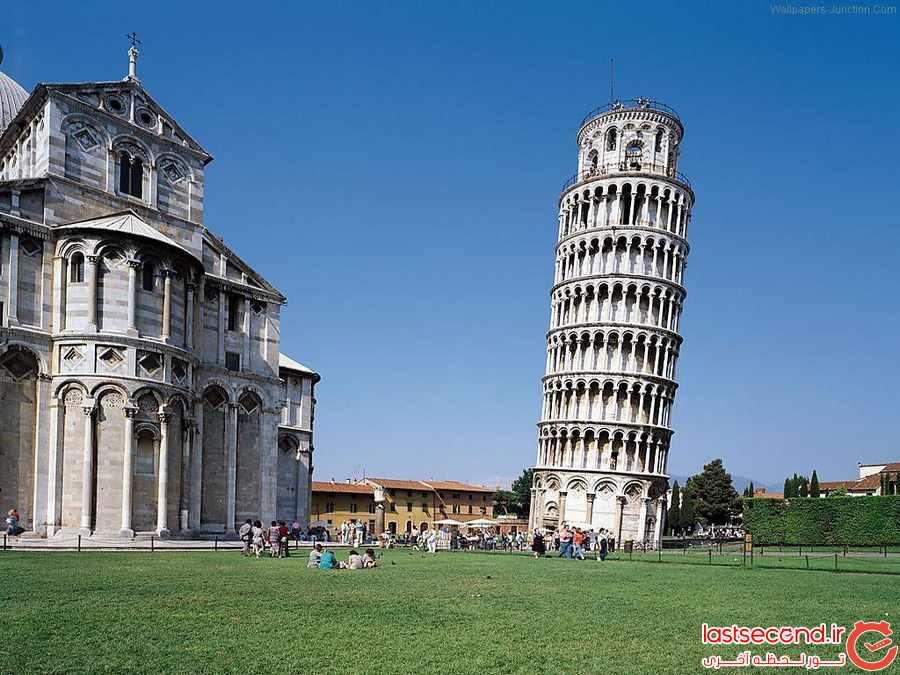 چرا برج پیزا کج است ؟  