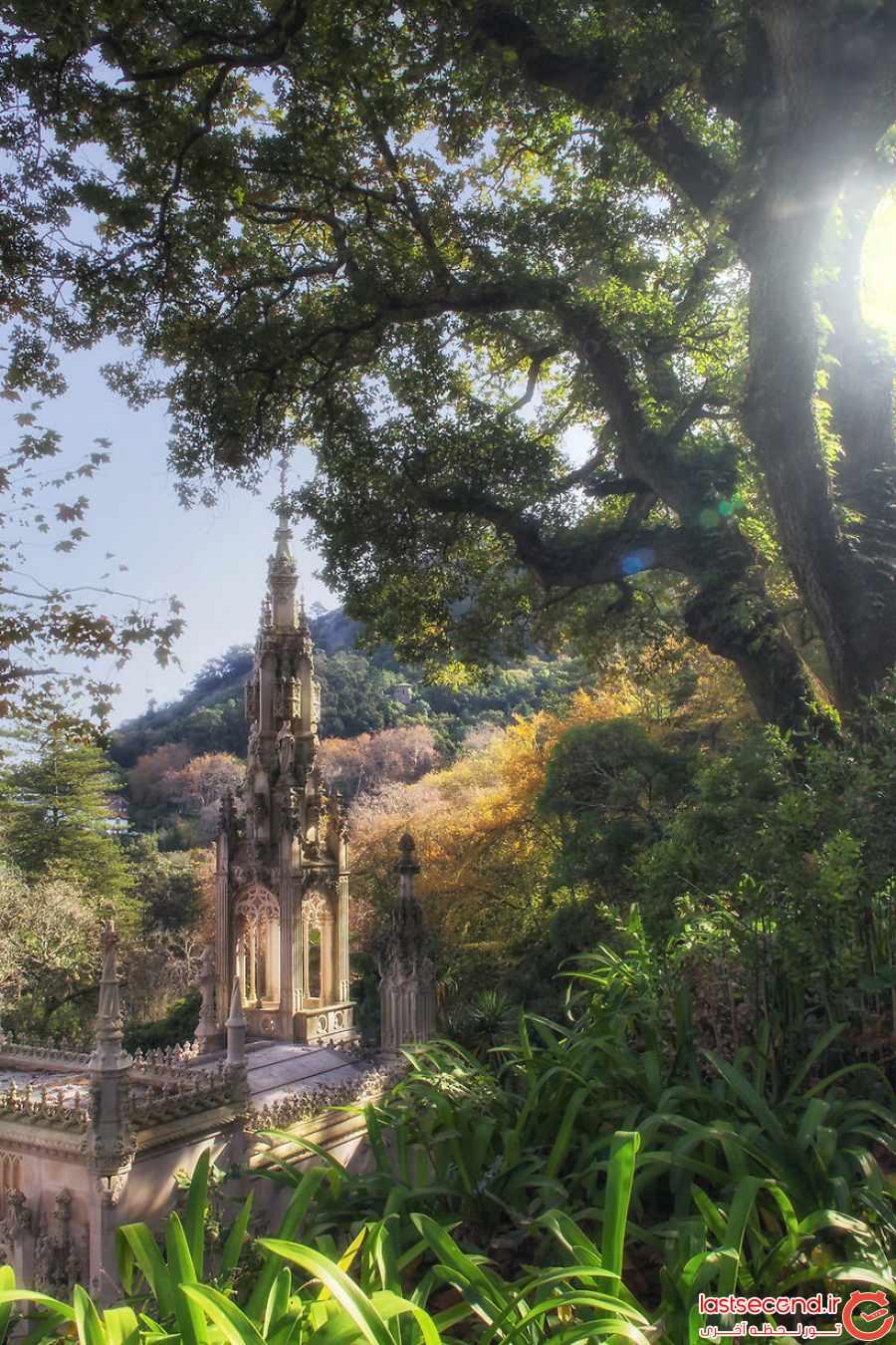 قصری مرموز و اسرارآمیز در قلب پرتغال      