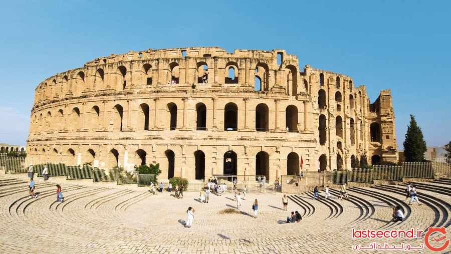  ده آمفی تئاتر مشهور رومی در جهان       