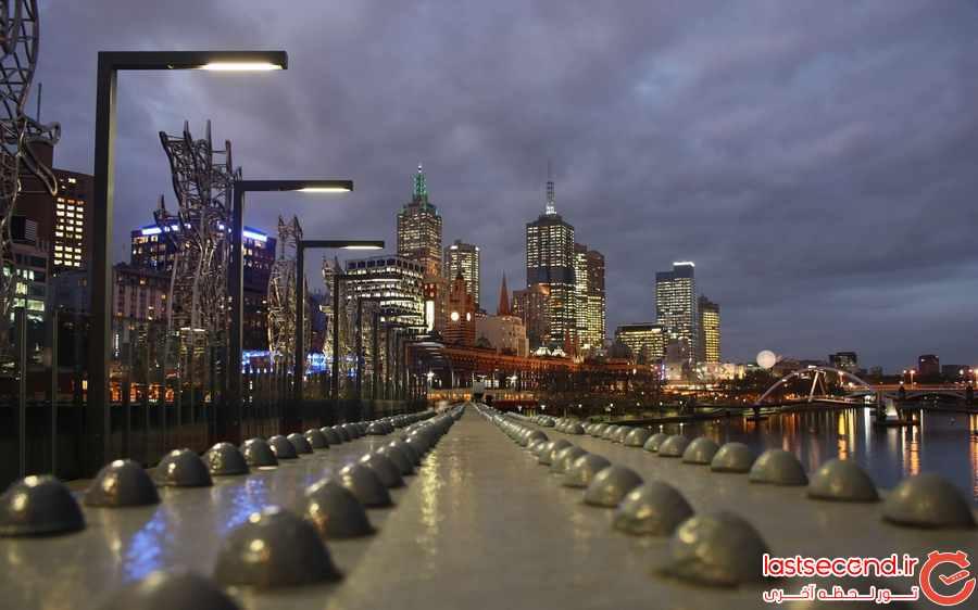 ملبورن برای ششمین سال متوالی قابل سکونت ترین شهر جهان شناخته شد         