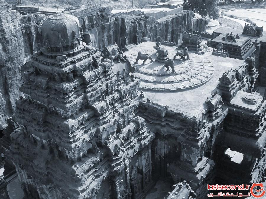 معبد کایلاسا: ساختاری فناناپذیر با تکنولوژی نامعلوم