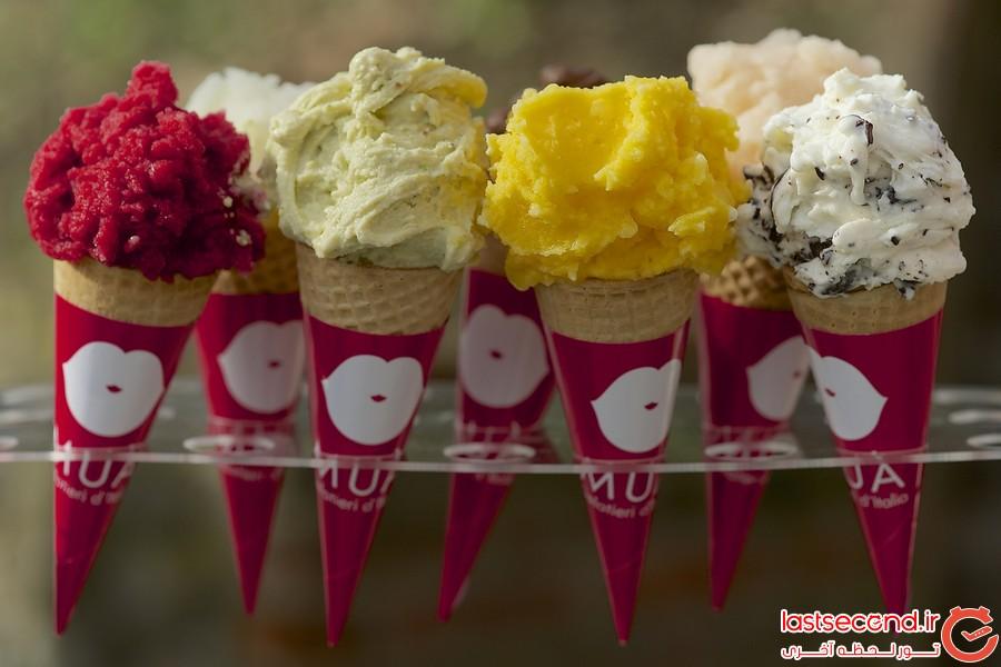 بهترین بستنی های دنیا