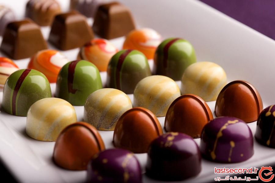 بهترین شکلات فروشی های دنیا