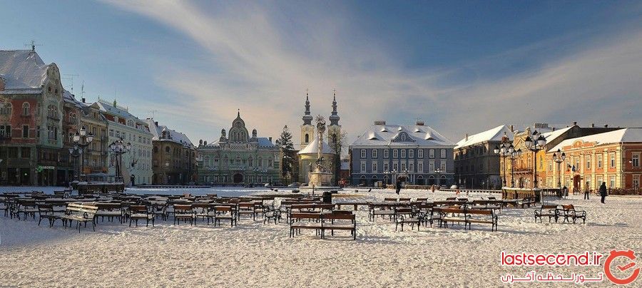 برترین مکان های گردشگری رومانی