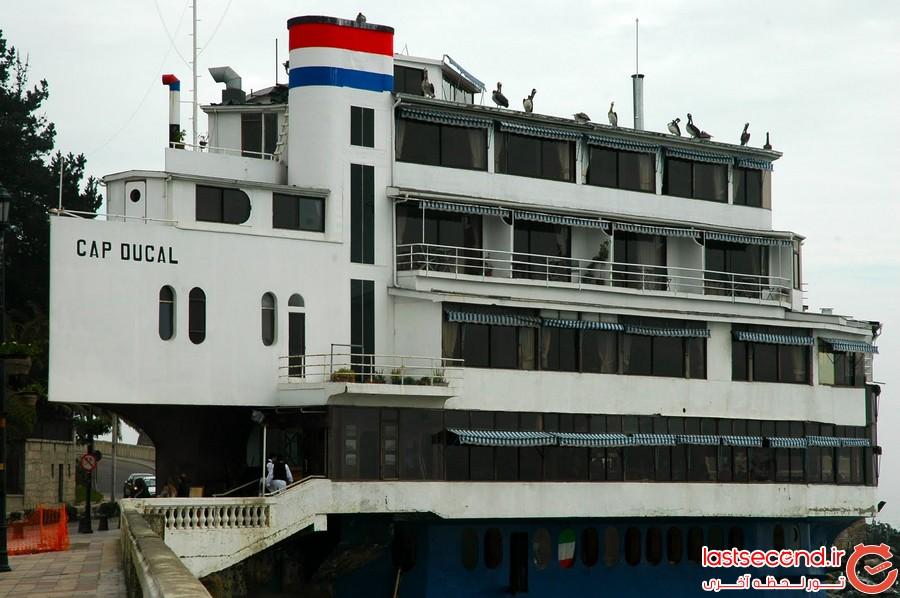 ساختمان های شگفت انگیز شبیه به قایق