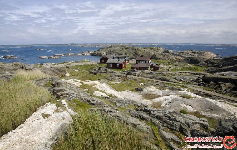 بهترین مکان های دیدنی سوئد