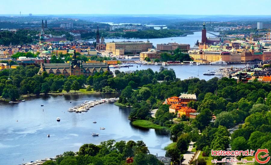 تصاویر زیبای کشور سوئد