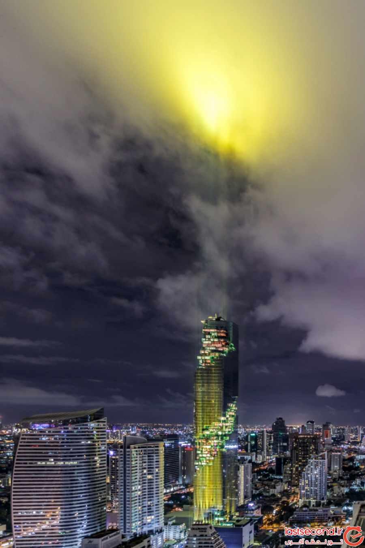 بلندترین ساختمان تایلند در بانکوک افتتاح شد       