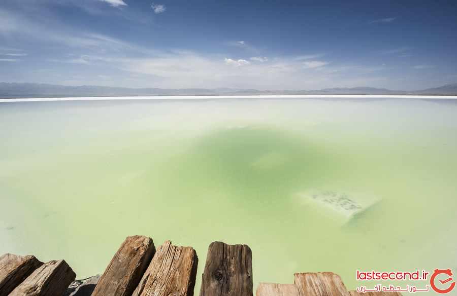دریاچه نمک چاکا ، آینه ی آسمان         