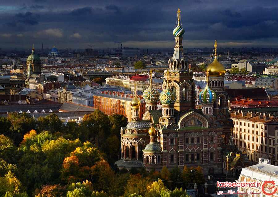 سن پترزبورگ بهترین مقصد گردشگری اروپا شناخته شد         