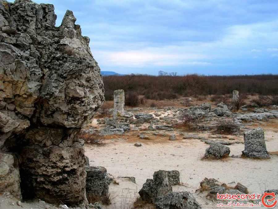 جنگل سنگی ، جاذبه ای طبیعی در بلغارستان           
