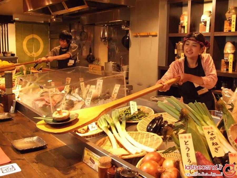 آشنایی با غذاهای ژاپنی