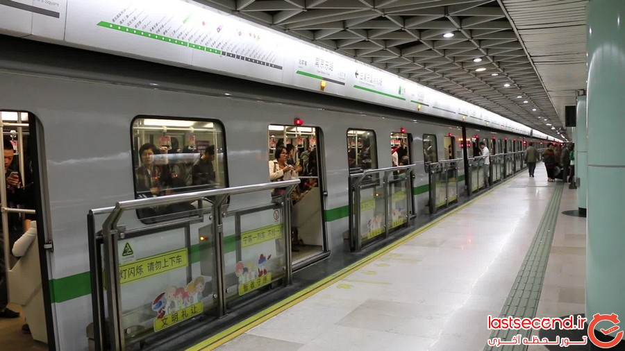 بزرگترین متروهای دنیا