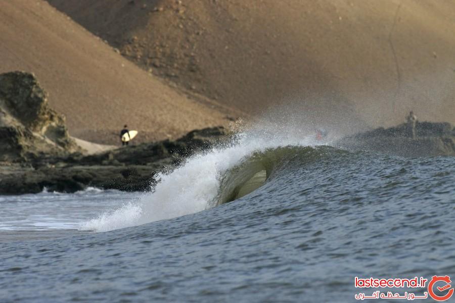 لا طولانی ترین امواج دنیا در پرو