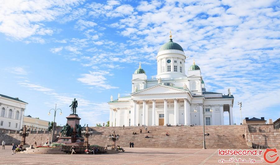 هلسینکی، قلب زیبای فنلاند