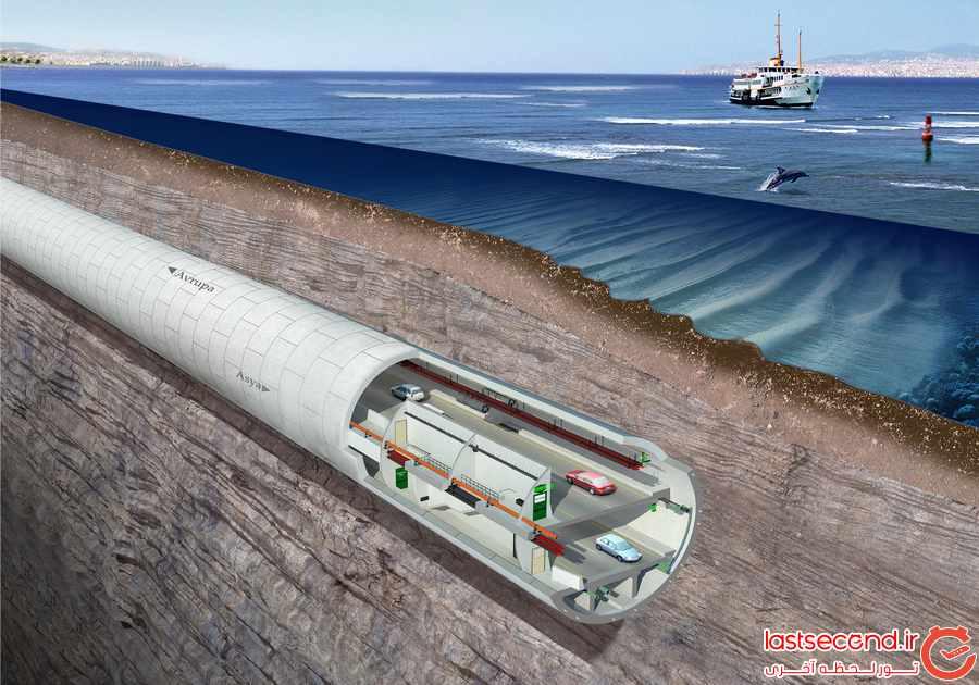 اوراسیا، تونلی کم نظیر در ترکیه      