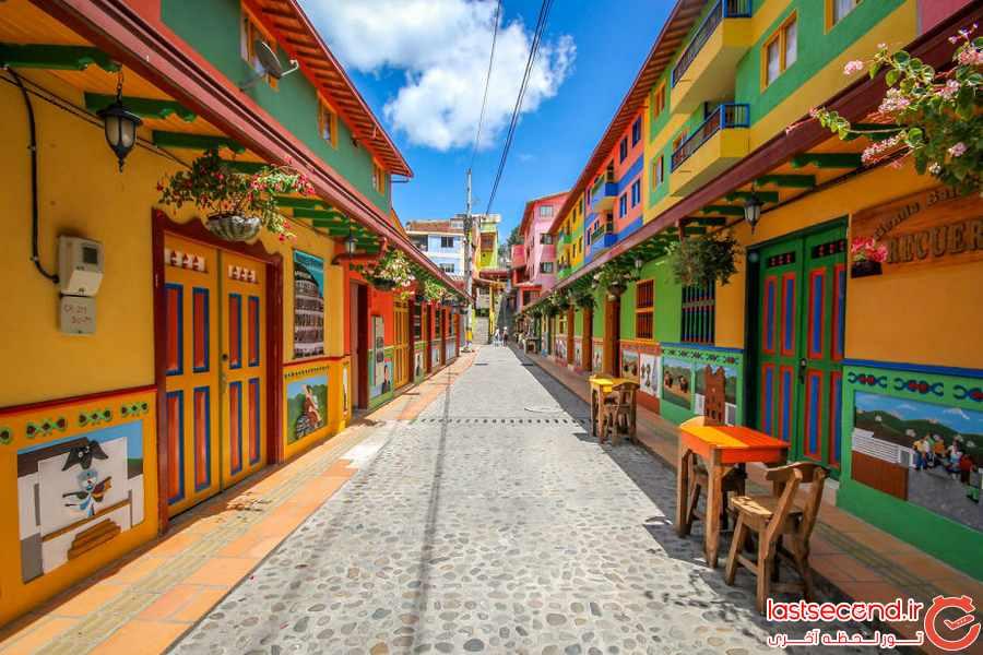 رنگی ترین شهر جهان را ببینید       