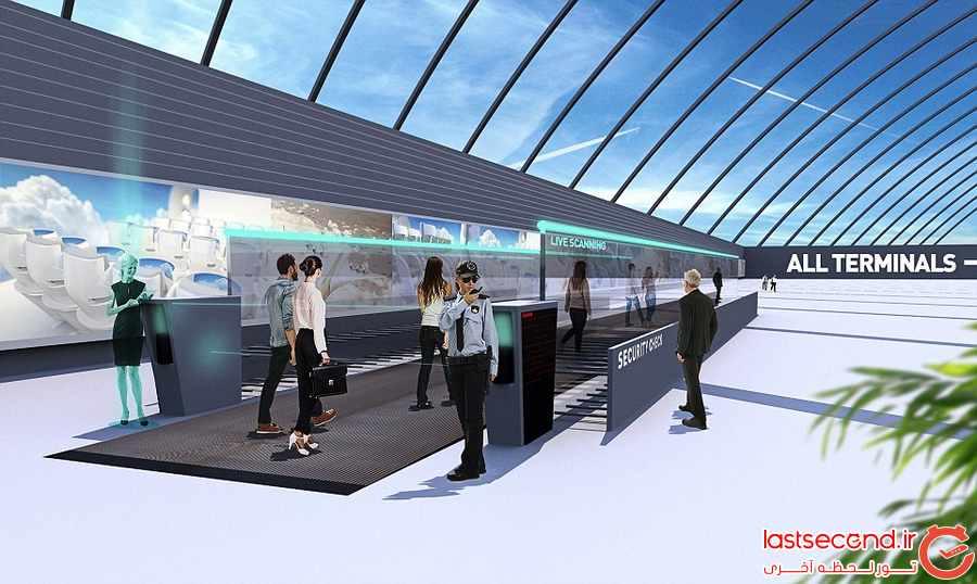فرودگاهها در سال 2040 چه شکلی خواهند بود ؟       