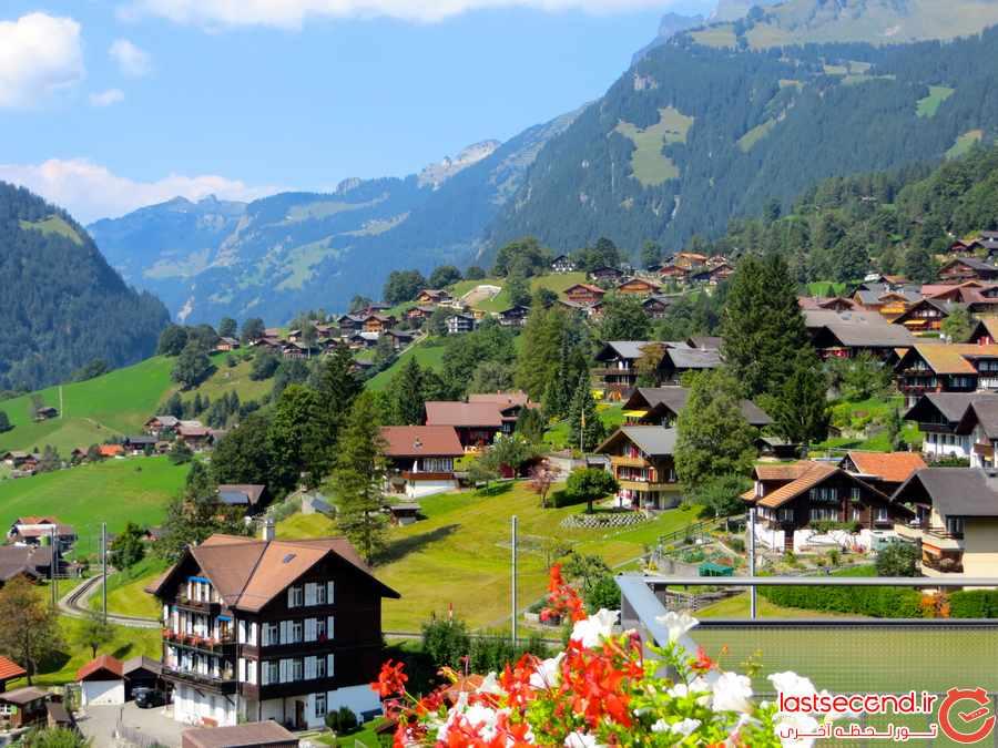 گریندلوالد، بهشت سوئیس در قلب کوه های آلپ       
