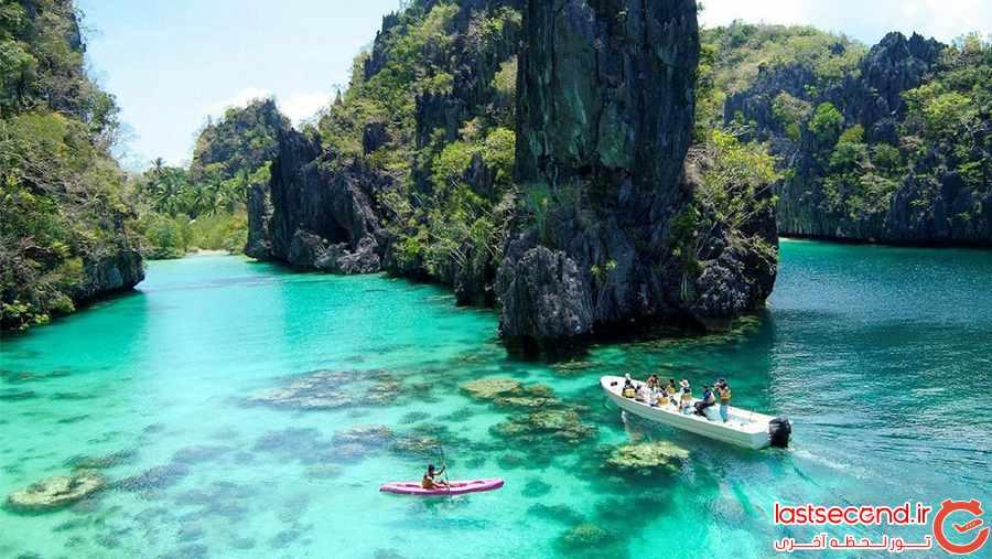 زیباترین و رویایی ترین جزایر دنیا :جزایر پالاوان    