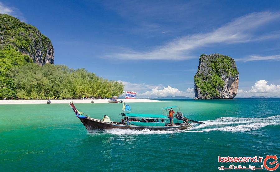 کرابی، شهری به زیبایی بهشت در تایلند