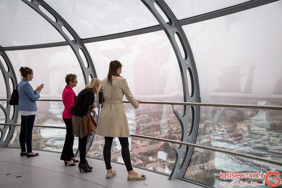 باریک ترین برج دید دنیا