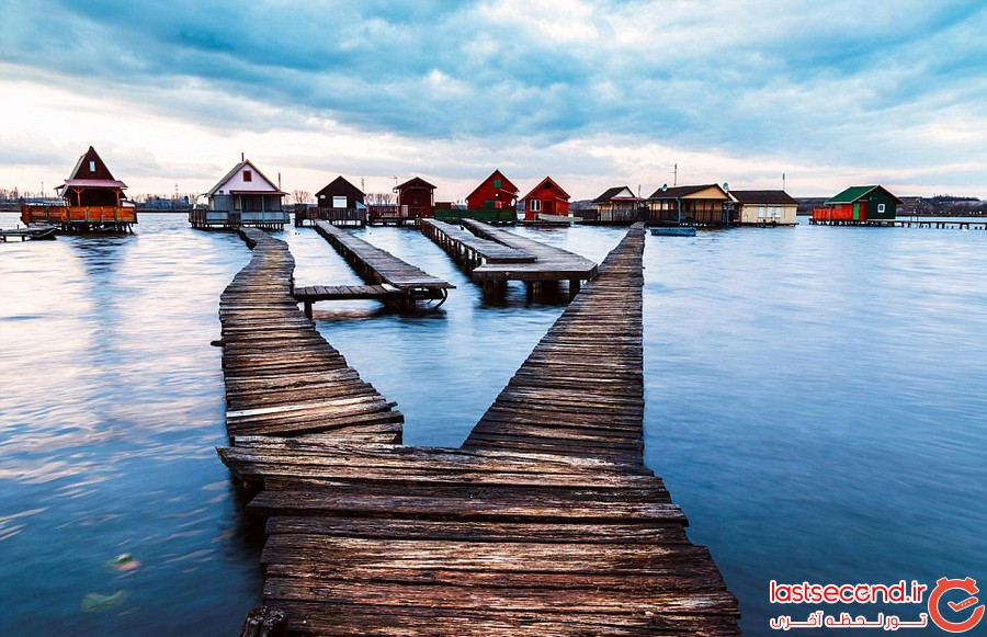 خانه های شناور، جاذبه ای دیدنی در مجارستان