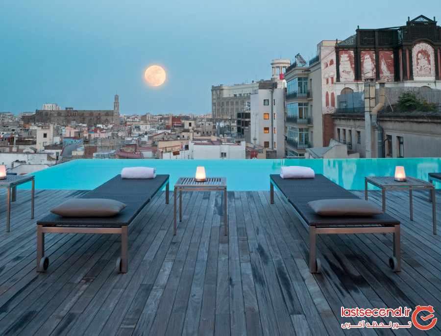 پشت بام این هتل ها بی نظیر هستند