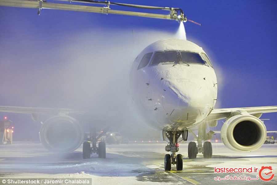  آیا باید نگران پرواز در هوای برفی باشیم ؟       
