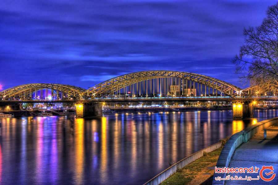 ده جاذبه گردشگری در شهر کلن آلمان 