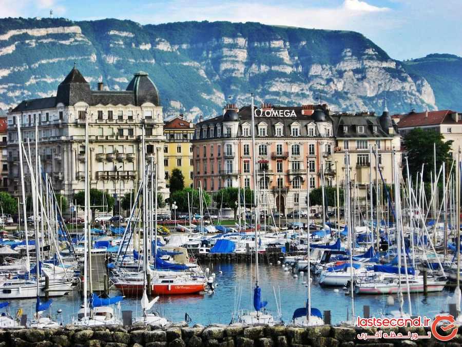 10 شهر زیبا و دیدنی در سوییس   