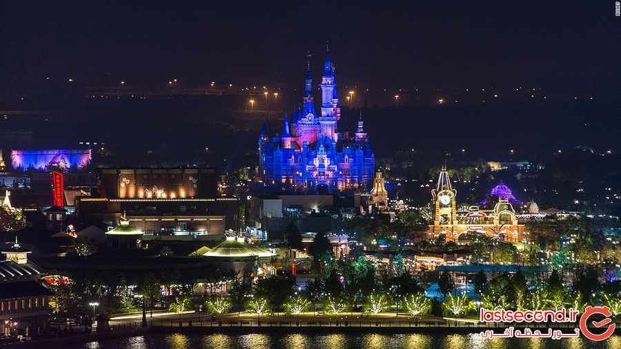 شانگهای چین و دیزنی لند بی نظیرش