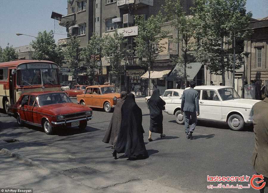 سفر در زمان : تصاویری از ایران قدیم              