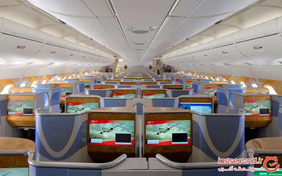 ایرباس A380 ، بزرگترین هواپیمای مسافربری جهان               
