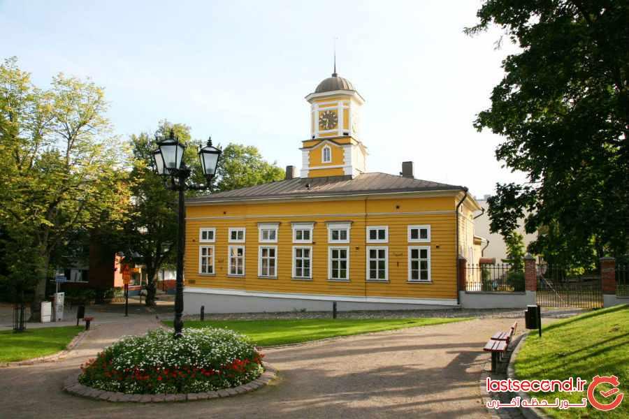 ده شهر زیبا و دیدنی در فنلاند  