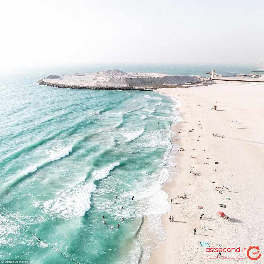 دبی و عمان را از آسمان ببینید + تصاویر               