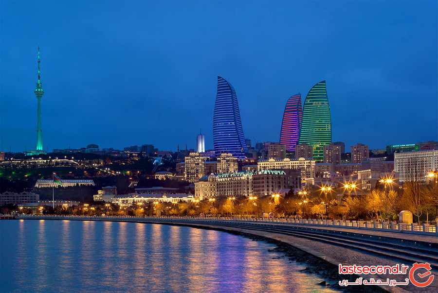 باکو، شهری که باید دید