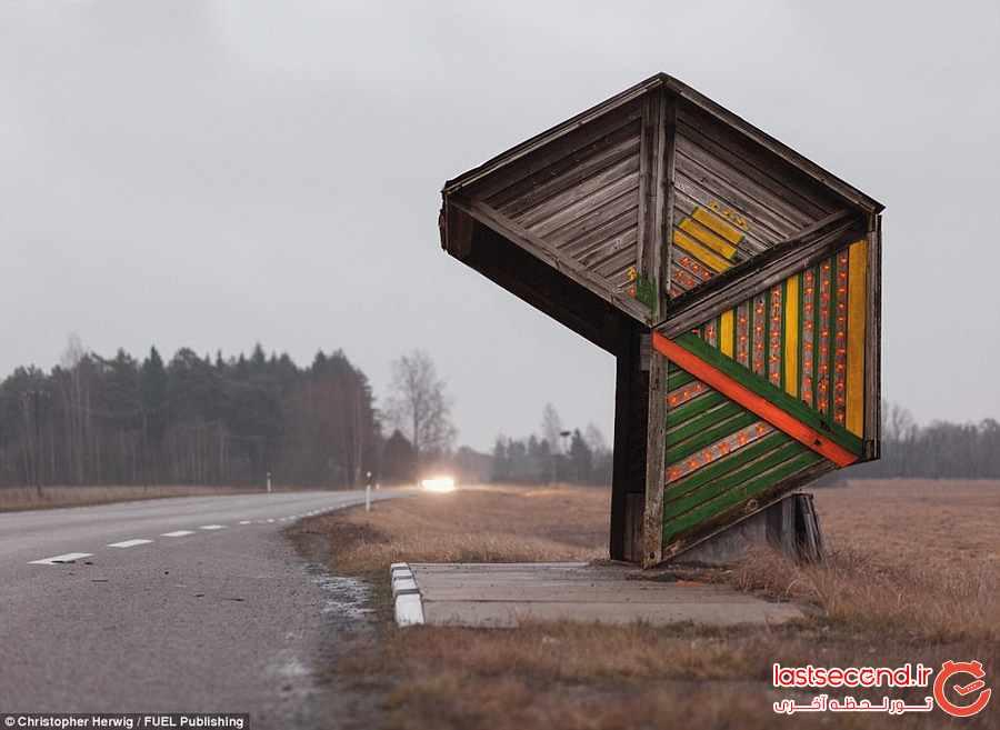 عجیب ترین ایستگاههای اتوبوس             