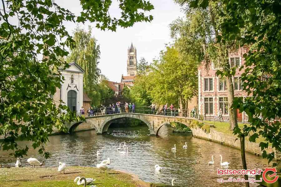 بروژ ، شهر افسانه ای بلژیک 