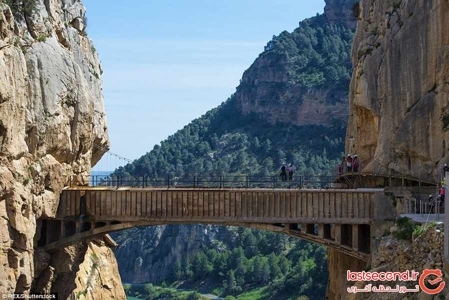 خطرناک ترین مسیر پیاده روی در اسپانیا           