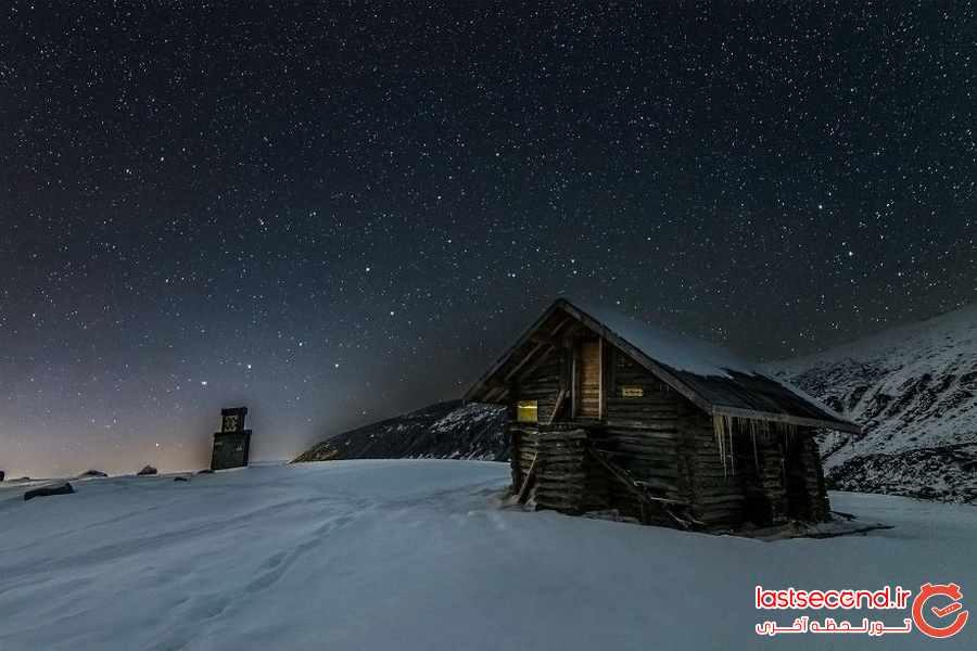 تصاویری خارق العاده از پدیده طبیعی نورهای شمالی در آسمان نروژ             