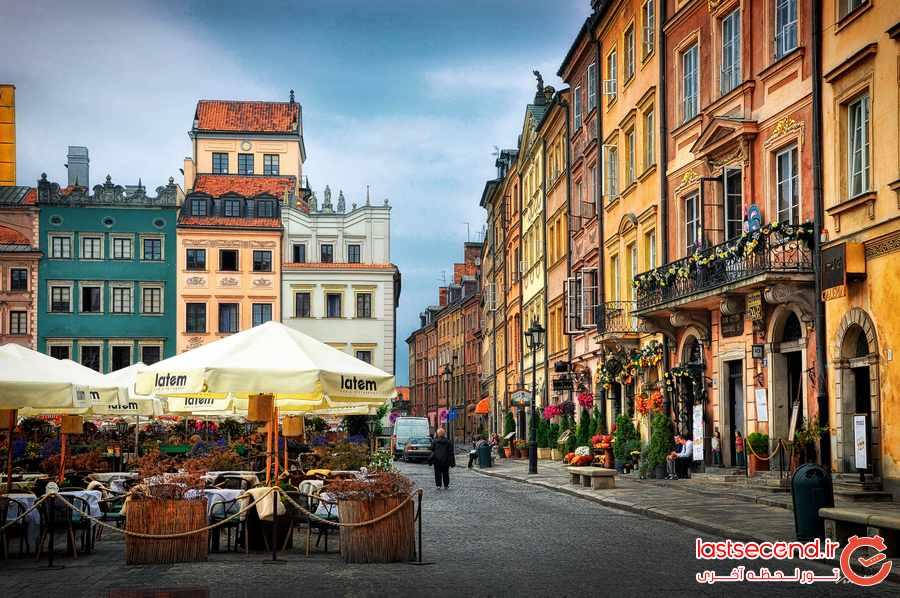 10 جاذبه زیبا و دیدنی در لهستان