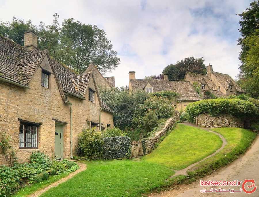 بیبری ، روستایی افسانه ای و جذاب در انگلستان             