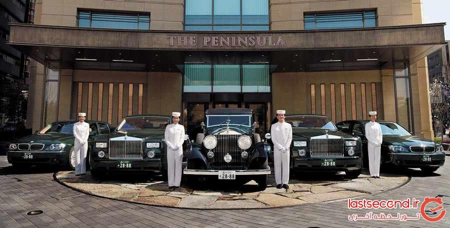هتل پنینسولا توکیو ، لوکس و خیره کننده            