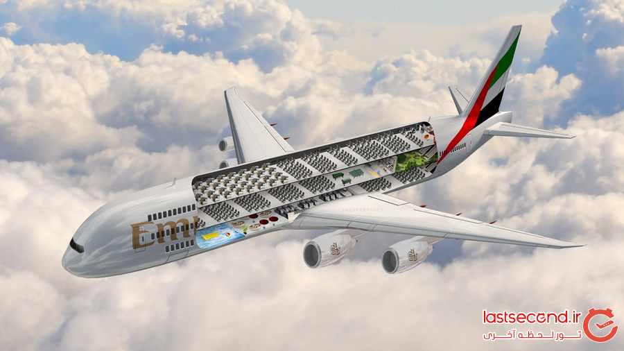 از هواپیمایی امارات چه می دانید؟             